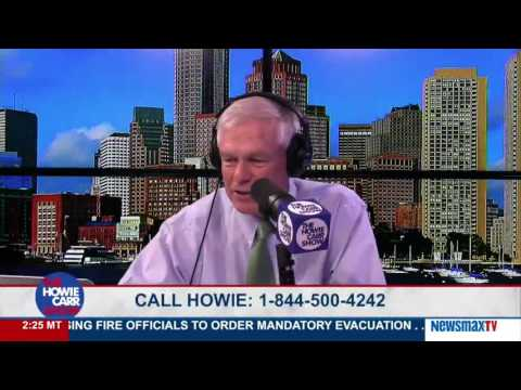 The Howie Carr Show | Do You Think Trump Really Wants To Jail People Who Burn The Flag?