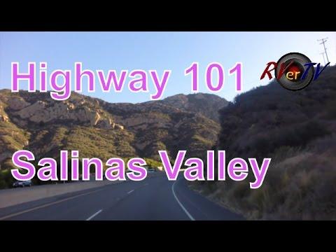 US 101 North..Santa Barbara.... Salinas Valley....Oil Wells.......RVerTV