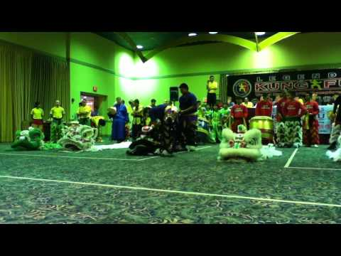 Legends of Kung Fu Lion Dance Competition Introduction