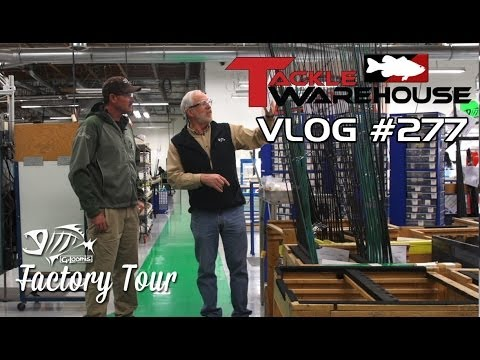 G. Loomis Factory Tour W. Jared Lintner Part 1 - Rod Blanks - TW VLOG #277