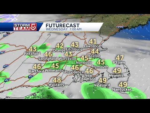 Video: Cooler, Rainy Weather Expected Before Downpours Arrive