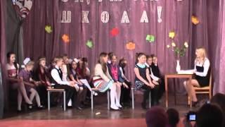 Сценка в иполнении младшей группы №2 ''На уроке русского языка и литературы ''