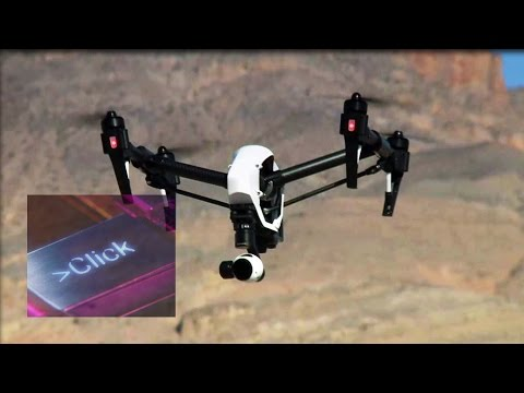 Latest drone designs tested at CES 2015