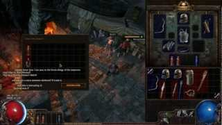 Path Of Exile - The Future Of This Channel (open Beta Gameplay W/ Commentary)