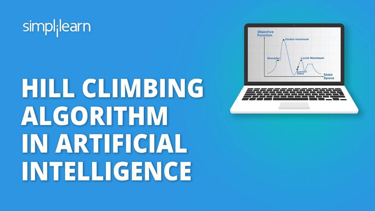 Hill Climbing Algorithm In Artificial Intelligence | Artificial Intelligence Tutorial