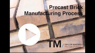 TM Precast Brick Manufacturing Process 1