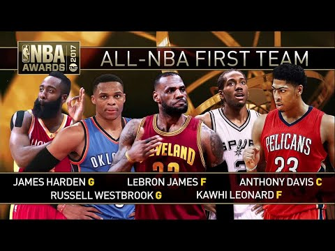 2017 NBA Awards: All-NBA Teams