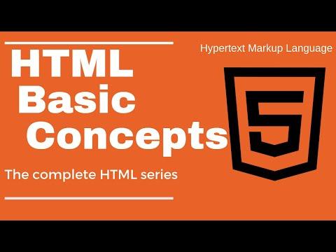 Basic Html  Concepts