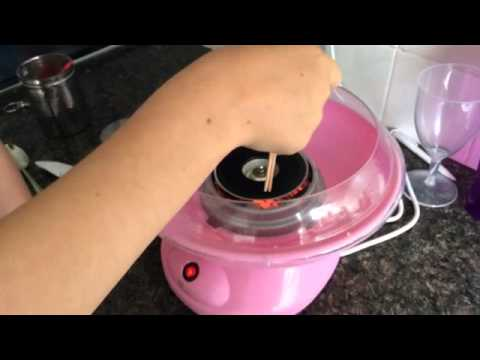 My Candy Floss Maker Youtube