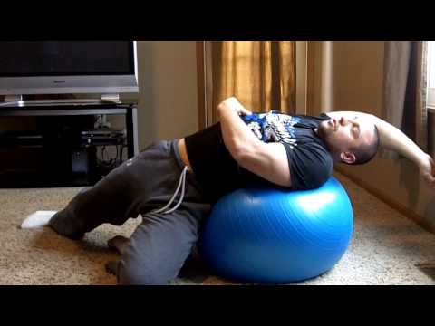 Vernon Hills Gym - Stability Ball Stretches For Tight Hips And Back