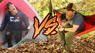 Hammock Vs Tent Camping In The Rain