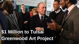Tulsa receives $1 million to commemorate Black Wall Street