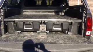 A.R.E. MX-Series Shell and Decked Storage System on 2015 RAM
