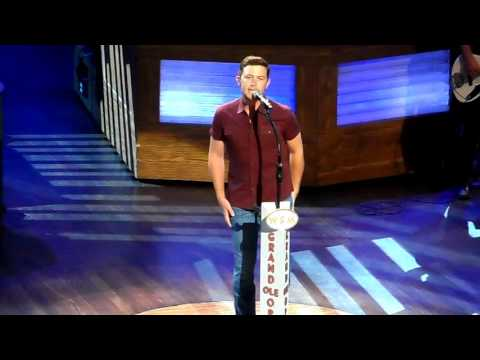 Scotty McCreery See You Tonight/ 5 More Minutes CMAFest 6/10/16