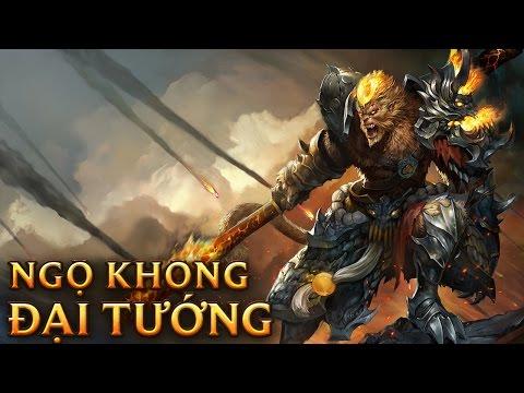 Ngộ Không Đại Tướng - General Wukong - Skins lol