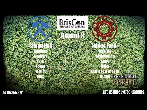 Briscon Cup Round 3: Simon Hall vs Tobias Ford