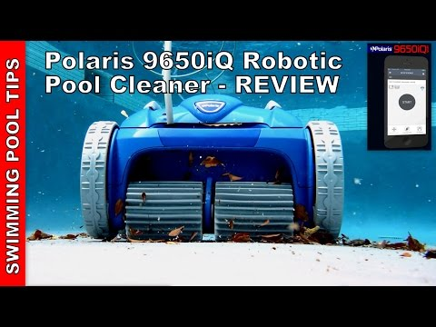 Thumbnail: Polaris 9650iQ Sport Robotic Pool Cleaner - WiFi Access iAquaLink Control