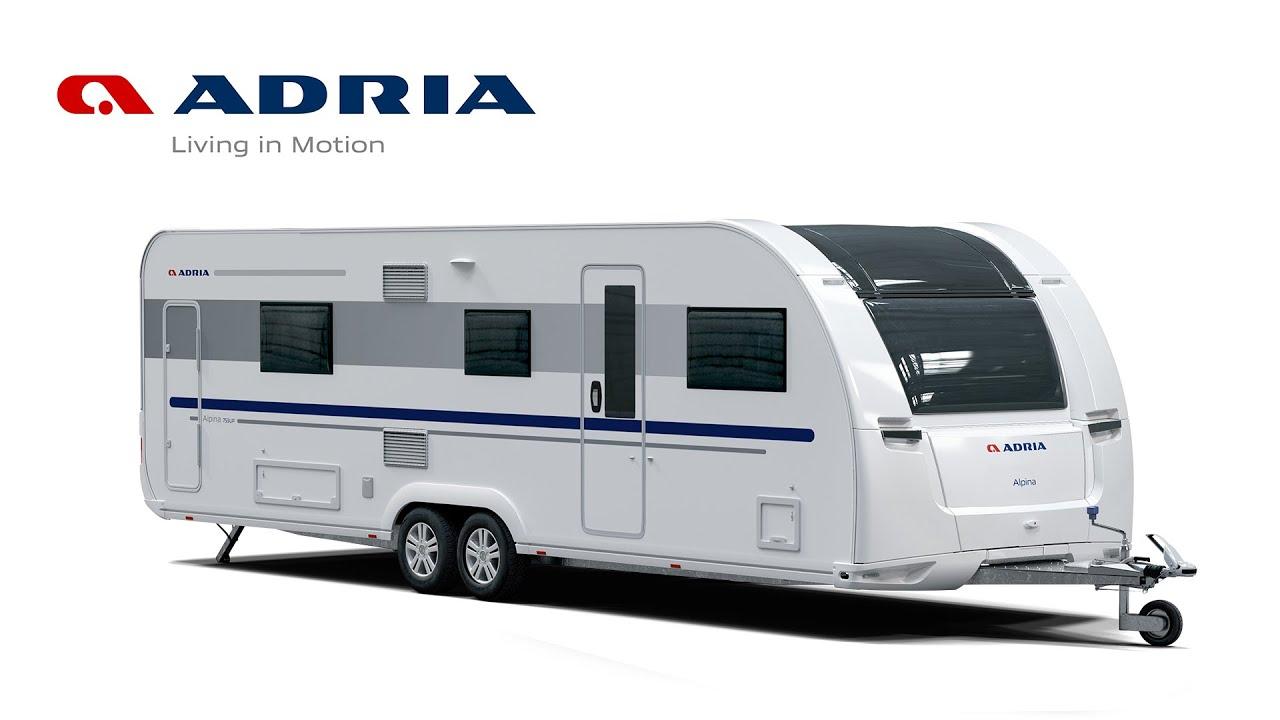 Wohnwagen ADRIA Alpina - Der ultimative Ganzjahres-Wohnwagen.