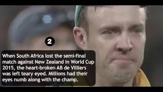 Top 10 moments in cricket which made the fans cry  |  HD