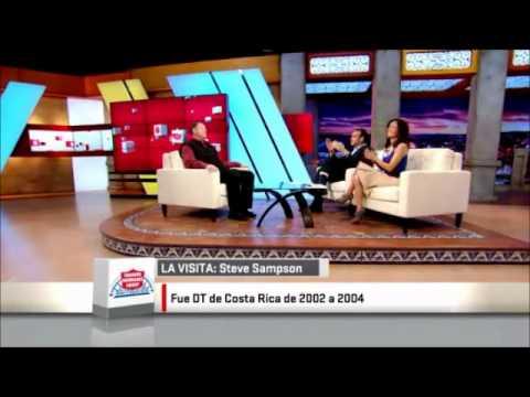 Steve Sampson habla de Costa Rica y Concacaf