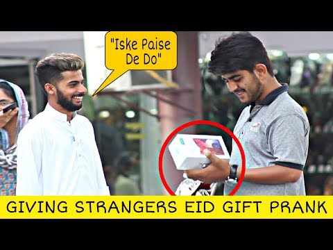 giving-strangers-eid-gift-with-a-twist- -eid-special- -prank-in-pakistan