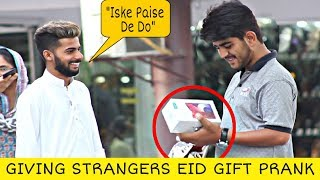 Giving Strangers Eid Gift With a Twist | Eid Special | Prank In Pakistan