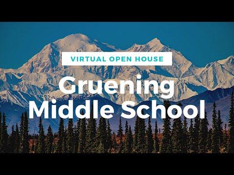 Gruening Middle School Virtual Open House