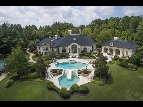 Magnificent Golf Club Home in Ball Ground, Georgia