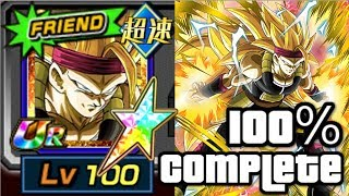 MAXED OUT 100% AGL SSJ3 BARDOCK is NICE! Dragon Ball Z Dokkan Battle