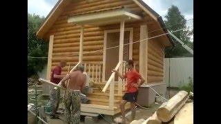 Построить баню недорого(Видео о строительстве бани на участке. Недорогая баня. Подробности на сайте http://plotnik33.ru/bani-pod-klyuch., 2016-03-11T16:04:38.000Z)