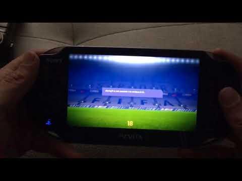 FIFA 18 Gameplay PS VITA