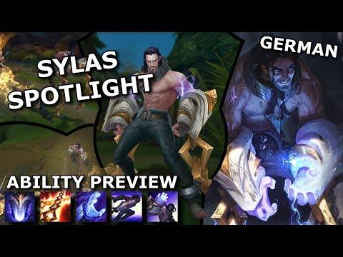 Sylas ABILITY SPOTLIGHT | League of Legends new Champion Spotlight German thumbnail