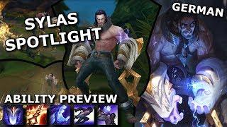 Sylas ABILITY SPOTLIGHT | League of Legends new Champion Spotlight German