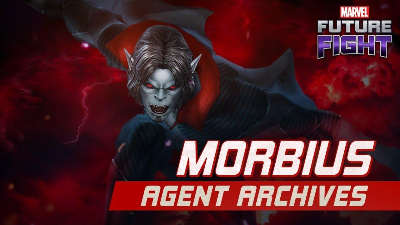 MARVEL Future Fight: Morbius Agent Archive