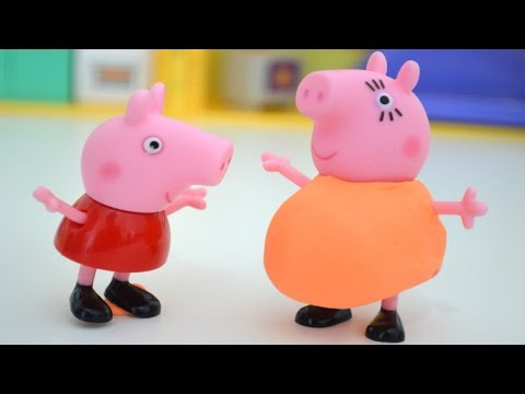 Pig George da Familia Peppa Pig no dia do Nascimento no Hospital!!! Em Portugues TototoyKids