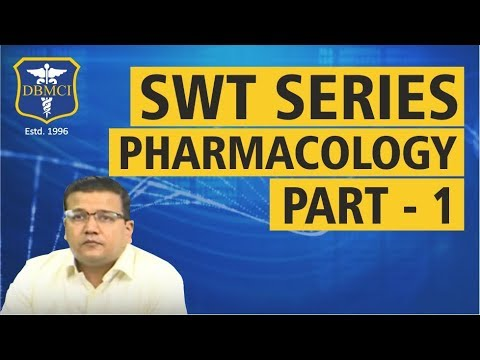 SUBJECT WISE TEST SERIES - PHARMACOLOGY - PART - 1