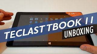 Teclast Tbook 11 Dual OS Unboxing And First Look