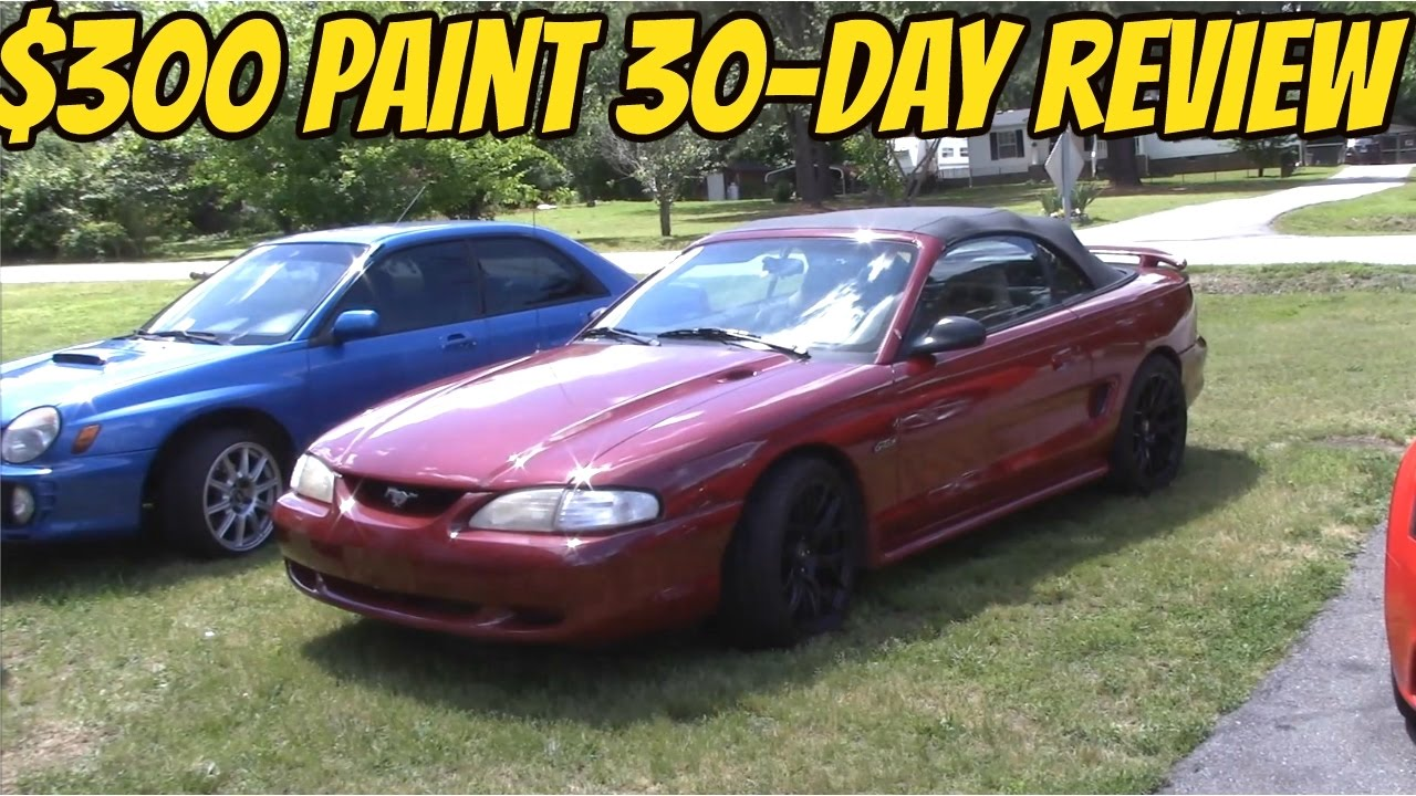 Paint Job Cost >> Cheap Paint Job 1 Month Later
