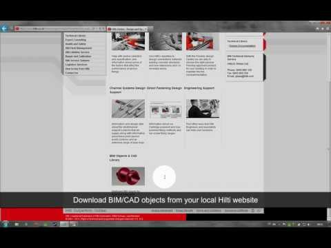 Hilti - Hilti BIM /CAD Library