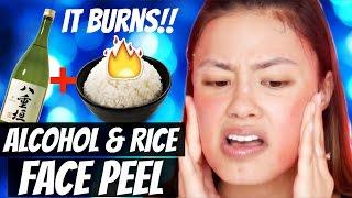 Rice & Sake Face Peeling Kit | Korean Skincare First Impressions!