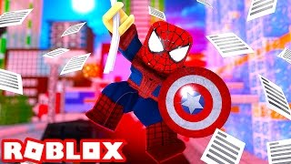 SPIDERMAN IN ROBLOX! (Roblox The Amazing Spiderman 3)