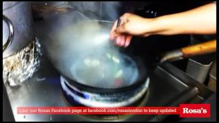 How to make Tom Yum Goong - Rosa's London online Thai food cooking class #3