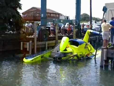 Gold Cup Hydroplane Crash