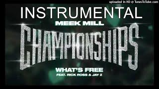 [FREE FLP] Meek Mill FT. Rick Ross & JAY Z - What's Free [INSTRUMENTAL] | ReProd. by TheHitBrainiac