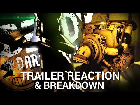 THIS Is The NEW Bendy Game! (Bendy & The Dark Revival - Trailer Reaction & Analysis)