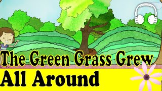 The Green Grass Grew All Around | Family Sing Along - Muffin Songs