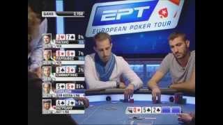 Европейский Покерный Тур 9. Монте-Карло. Главное событие 1/8