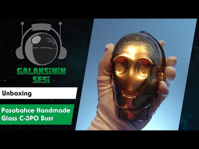 Unboxing : Pasabahce Nude Series Handmade Glass C-3PO Bust