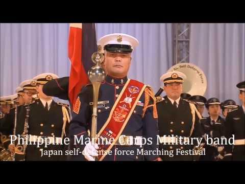 Philippine Marine Corps Military band.