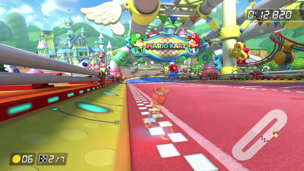 Baby Mario Mario Kart 8: Bz Alpha (Mario Kart 8